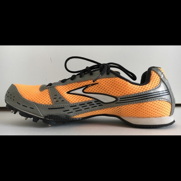Brooks Shoes - BROOKS Women SURGE MD Sz 9 Orange Track Field Shoe